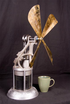 Stirling Cycle Stove Fan